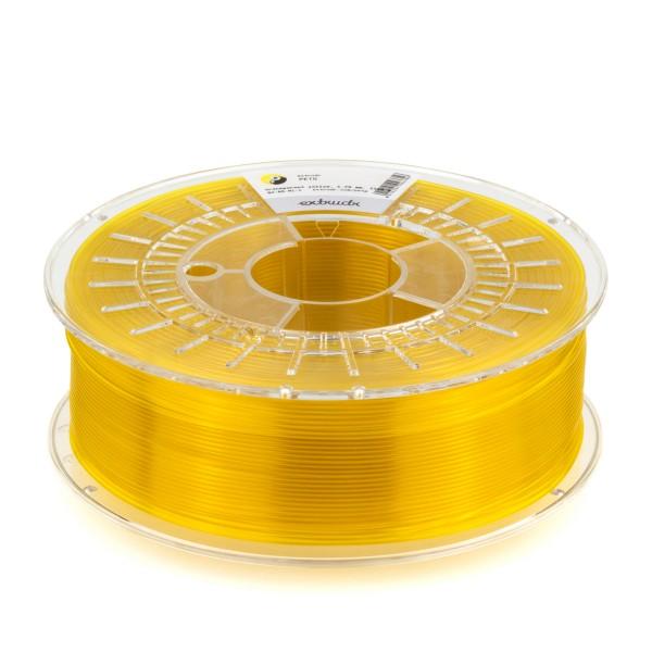 PETG Filament 2.85 mm gelb transparent 2.5 kg