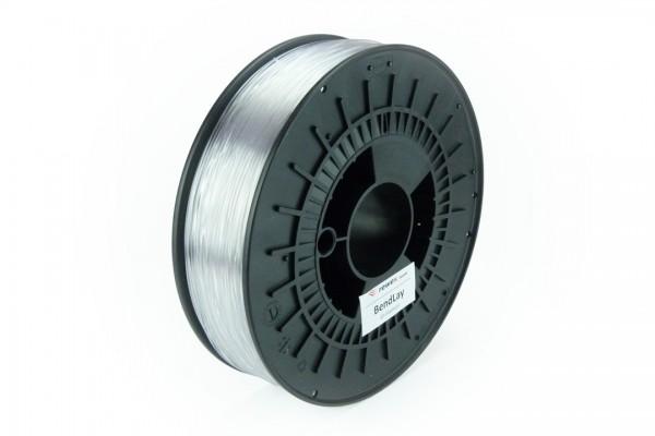 BendLay-Filament transparent/glasklar 2.85 mm 2.3 kg