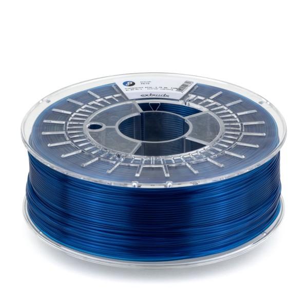 PETG Filament 2.85 mm blau transparent 2.5 kg