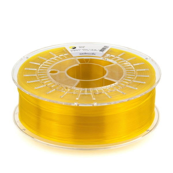 PETG Filament 1.75 mm gelb transparent