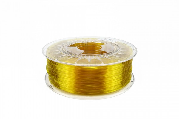 PETG Filament 2.85 mm gelb transparent