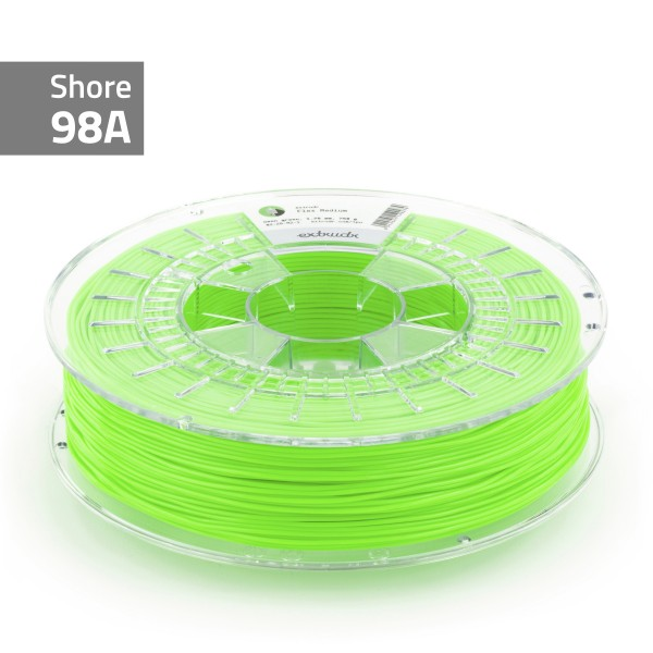 TPU-Filament FLEX MEDIUM neongrün 1.75 mm