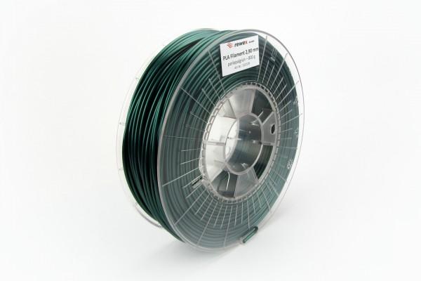 PLA Filament perlopalgrün RAL 6036 2.85 mm