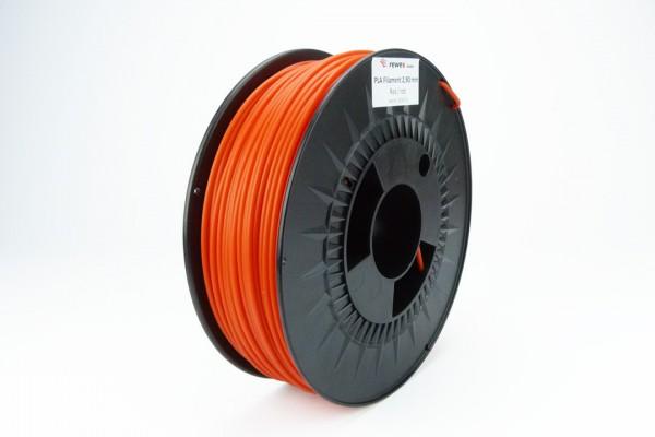 PLA Filament 2.85 mm rot (RAL3024)