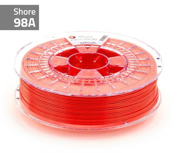 TPU-Filament FLEX MEDIUM neonrot 1.75 mm