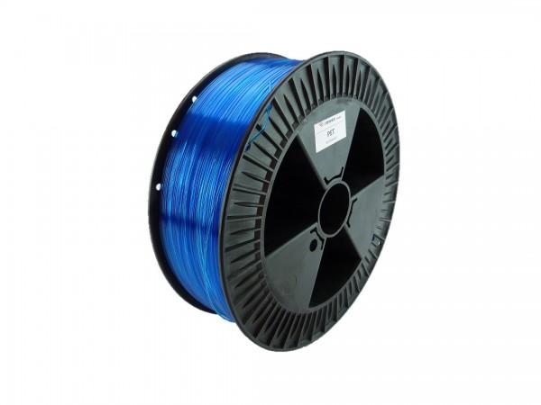 PETG Filament 1.75 mm blau transparent 2.3 kg