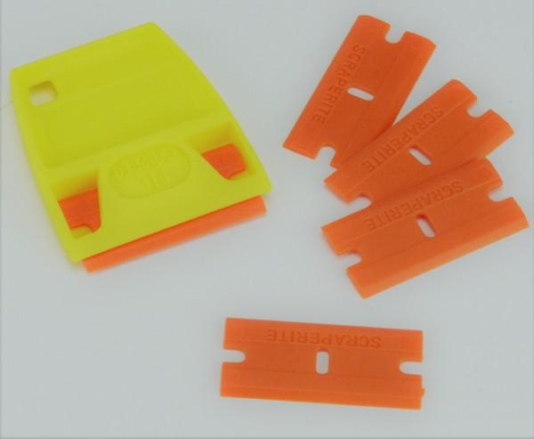 Kunststoffspachtel für 3D Druck inkl. 4 Ersatzklingen