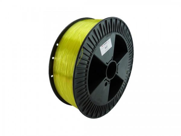 PETG Filament 1.75 mm gelb transparent 2.3 kg