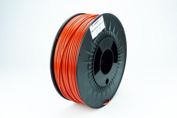 ABS Filament signalrot 2.85 mm 2.3 kg