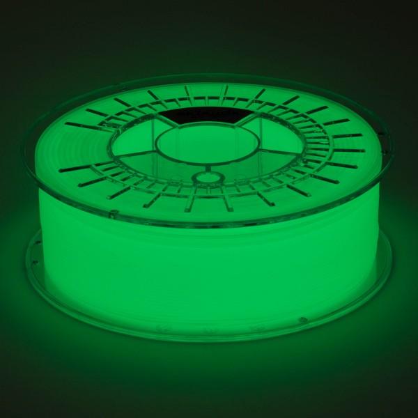 PETG Filament 1.75 mm glowEX RAL 6038 2,5 kg