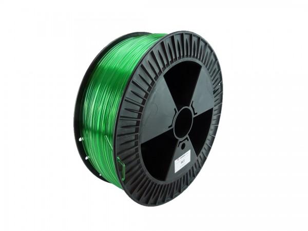 PETG Filament 2.85 mm grün transparent 2.3 kg