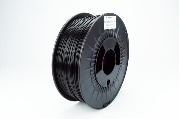 PLA Filament schwarz 1.75 mm (RAL9017)