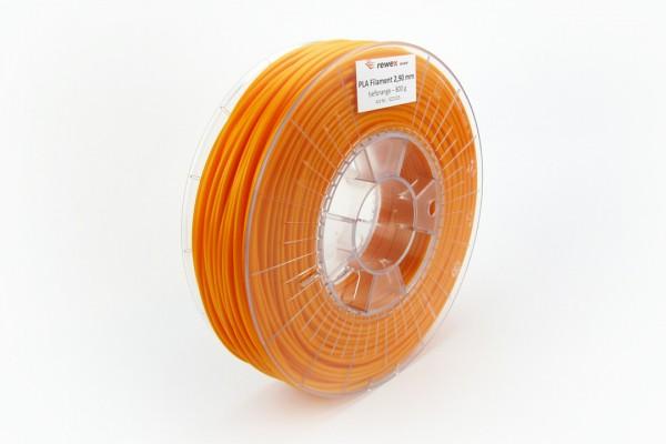 PLA Filament tieforange RAL 2011 2.85 mm