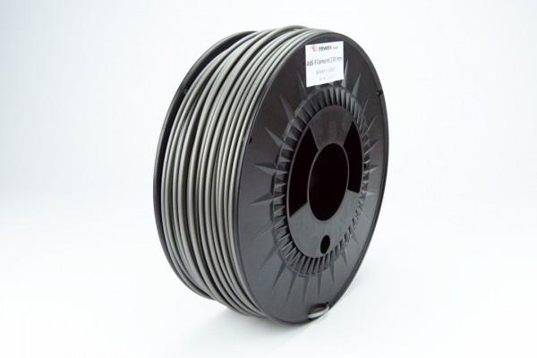 ABS Filament silberfarben 2.85 mm 2.3 kg